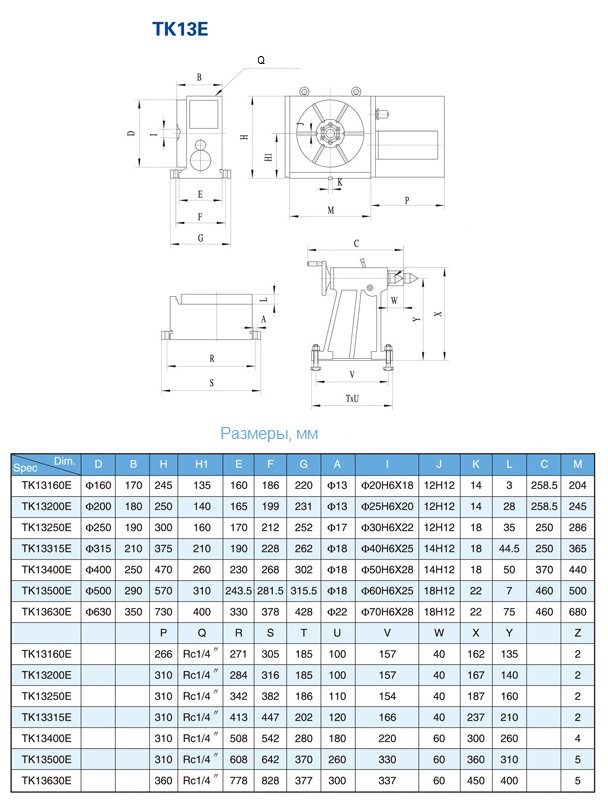 Вертикальный обрабатывающий центр с ЧПУ Weida ХН7125